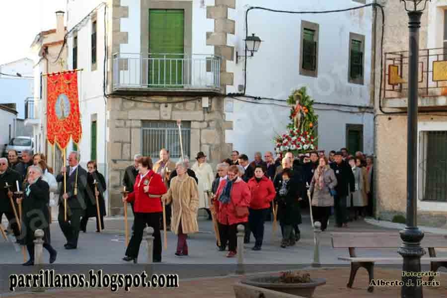 San Sebastián 2014. Patrono de Parrillas (Toledo). Parrillanos