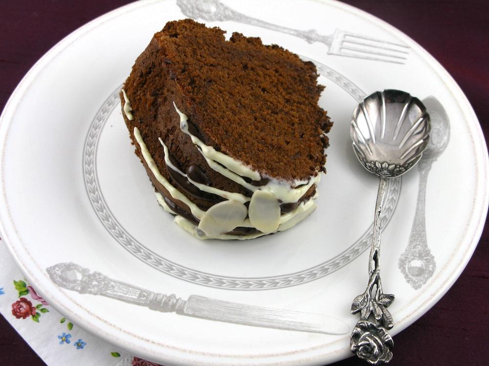 CHOCOLATE AMARETTO POUND CAKE   Entries General