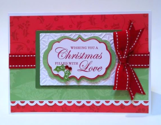 Courtney Lane Designs 150 Christmas Cards Made Using The