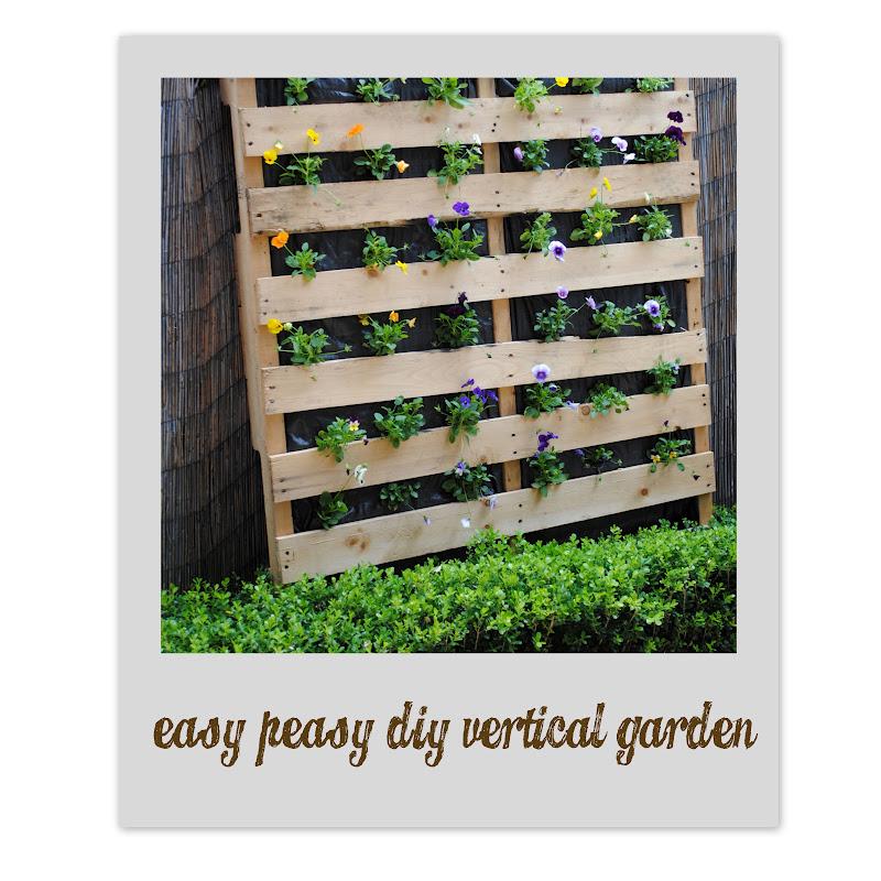 Bubby Makes Three Build A Vertical Garden