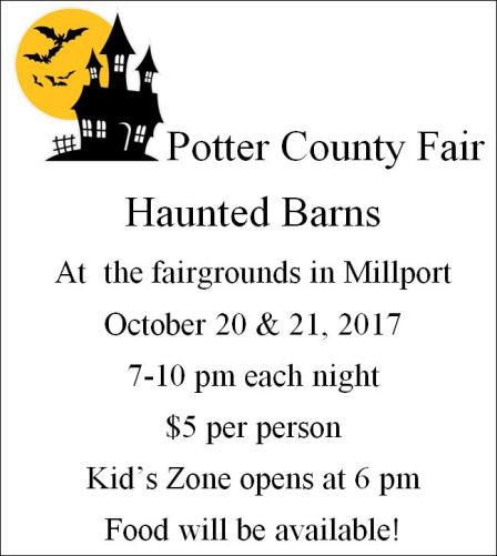 10-21 Potter County Fair Haunted Barns