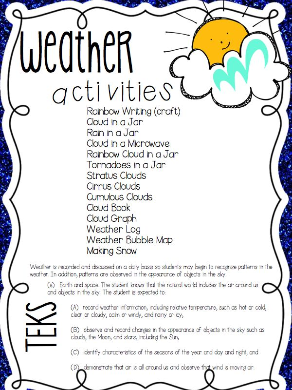 Science Worksheets Weather : A day in first grade science galore and freebie