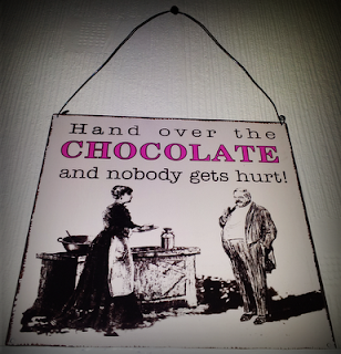 Hand over the chocolate & nobody gets hurt!