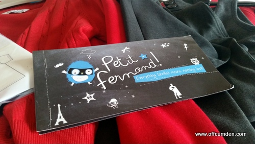 Petit Fernand name labels
