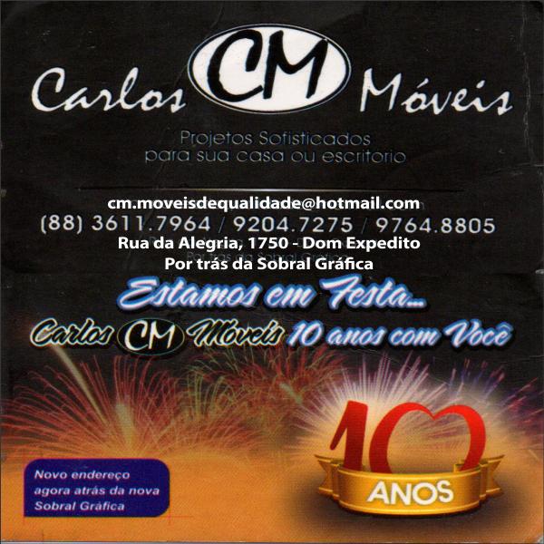 CARLOS MÓVEIS  CONFIRA.