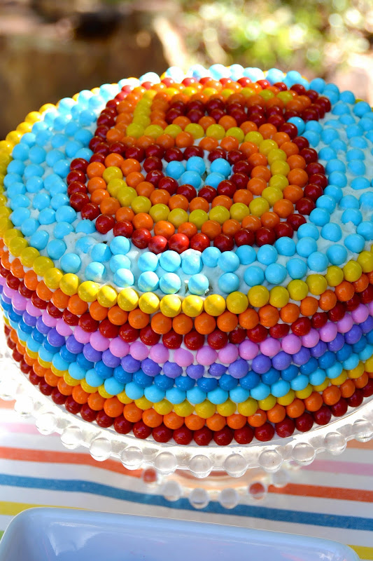 Aesthetic Nest Cooking Rainbow Number Birthday Cake Tutorial