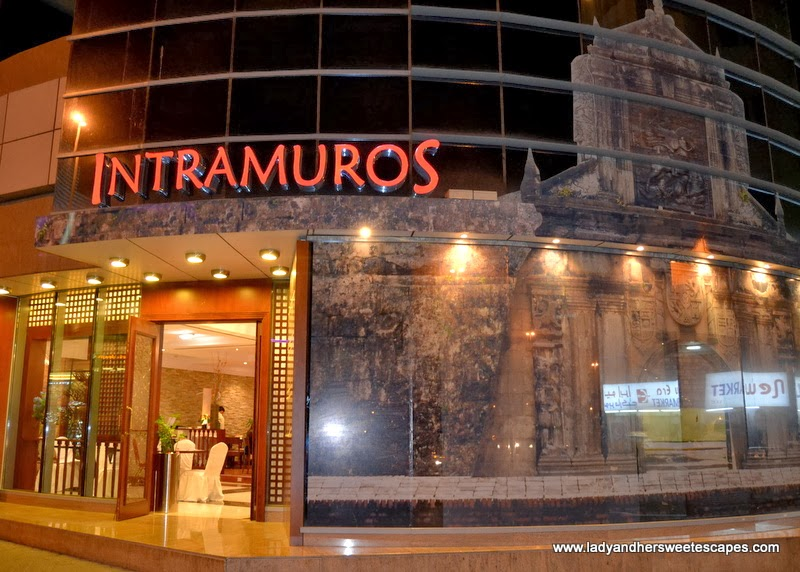 Intramuros Restaurant in Deira Dubai
