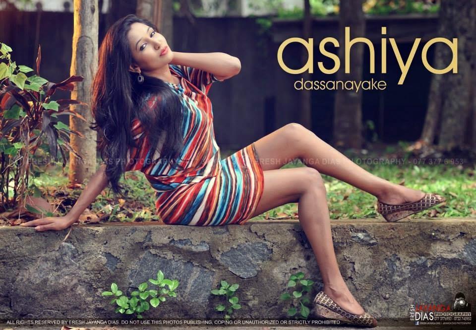 Ashiya Dassanayake legs hot