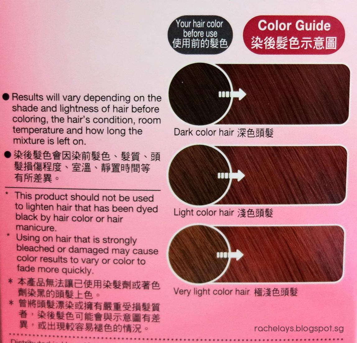 RACHELAYS: [Review] Liese Bubble Hair Color - Jewel Pink