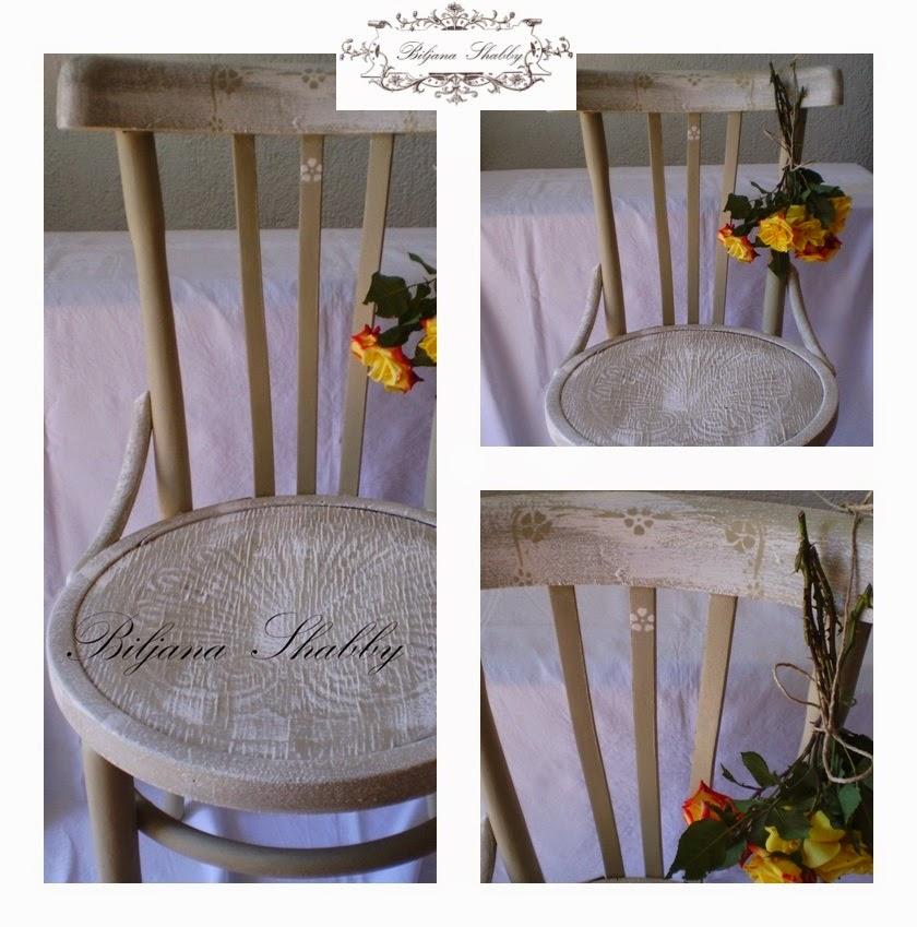Biljana Shabby: Uređenje doma uradi sam: Makeover stare stolice sa chalk pain...