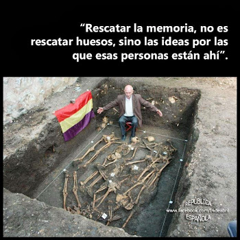 Rescatar a Memoria non é recuperar osos...