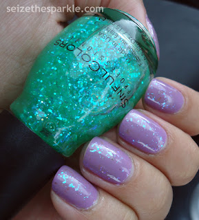 SinfulColors Green Ocean over Tempest