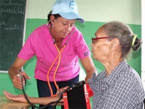 Más de 2 mil personas consultadas durante jornada médica ofrecida por ayuntamiento SDN