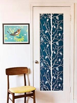 10 ideas para decorar con papel pintando
