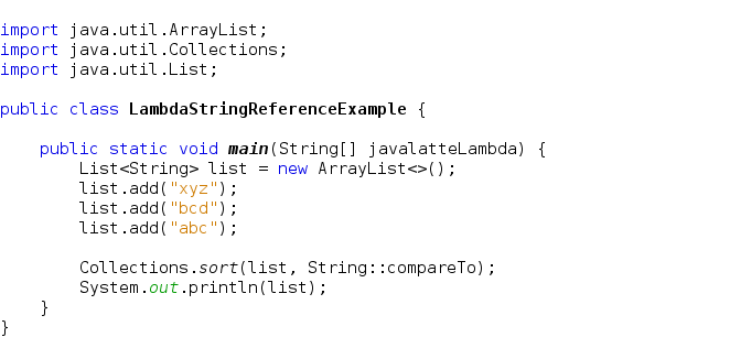 Java Latte Method References In Java 8