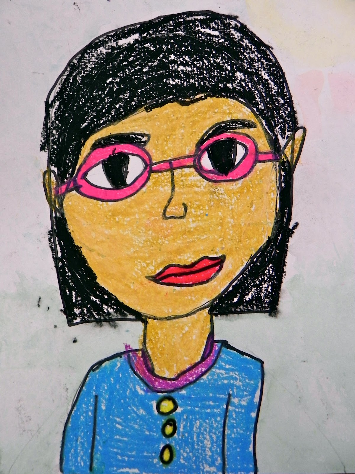 Art Attack Self Portraits Grade 3 Room P3
