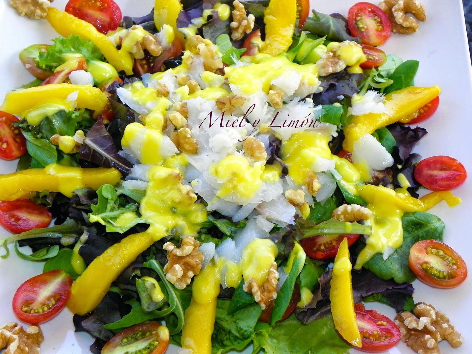 Vinagreta de mango cocinar en casa es for Cocinar con mango
