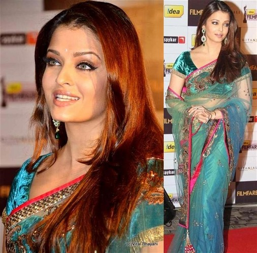 Cute Aishwarya Rai - Saree Stills