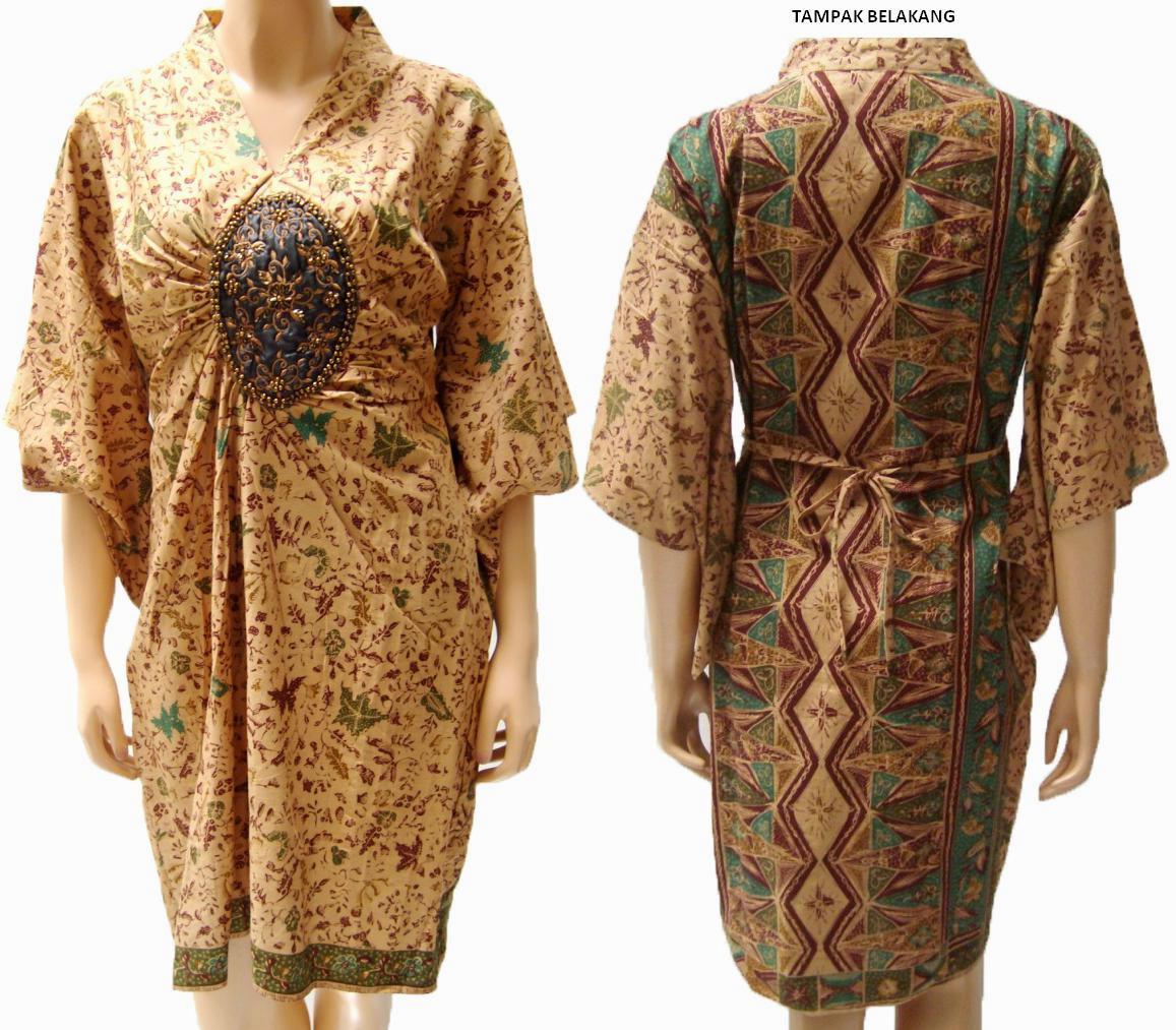 Model Baju Busana Muslim Batik Untuk Lebaran 2013