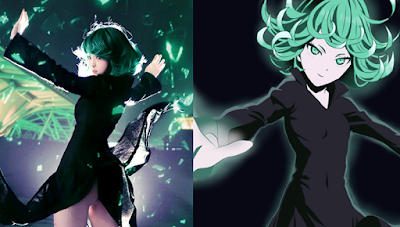 Cosplay Tatsumaki One Punch Man ala Misa Chiang images 01