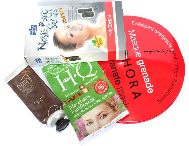 prodotti terminati consigli di makeup nashi argan