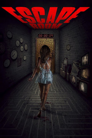 Poster Of Escape Room In Dual Audio Hindi English 300MB Compressed Small Size Pc Movie Free Download Only At worldfree4u.com