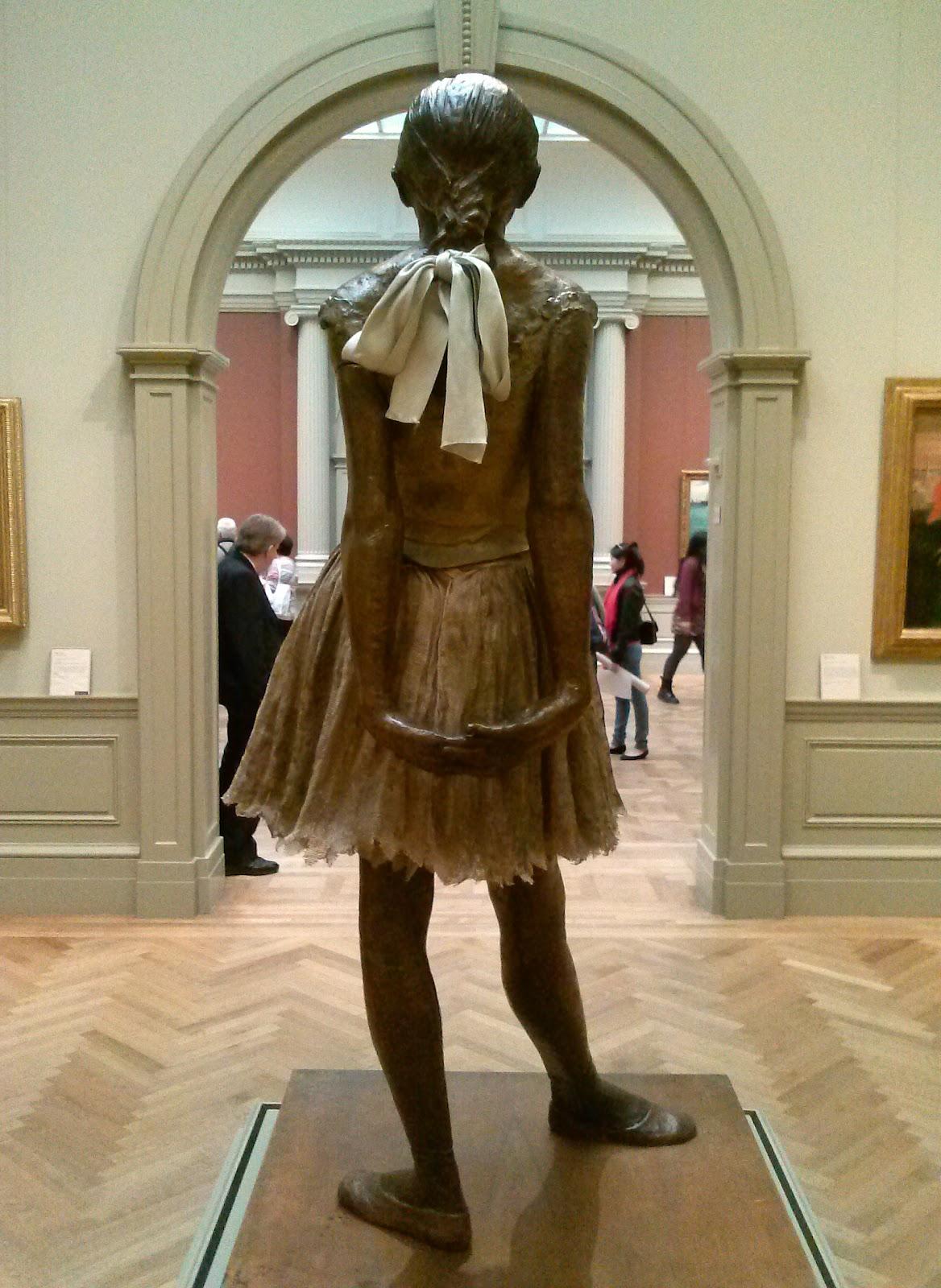 Edgar  Degas  Little  Dancer  Fourteen  Year  Old C