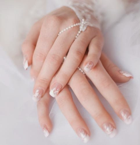Wedding nail Art Design
