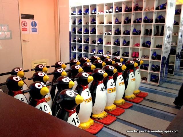 Dubai Ice Rink's penguin pals