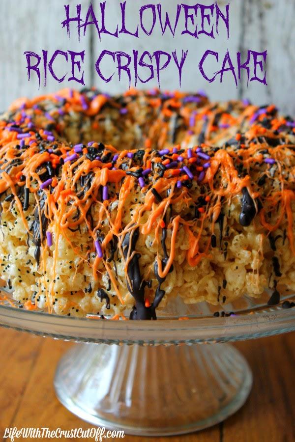 Rice Krispies cake #ricecrispy
