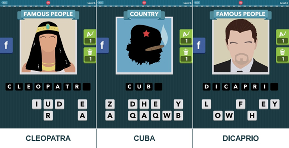 Icomania: cheats, hints, help, solutions and answers - Level 6