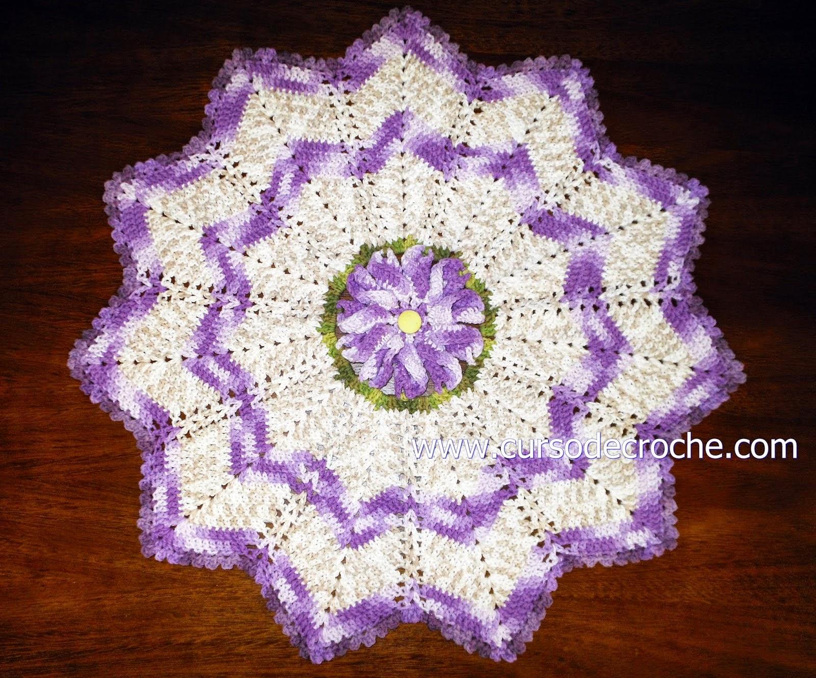 dvd em croche coleção com Edinir-Croche na loja curso de croche com frete gratis