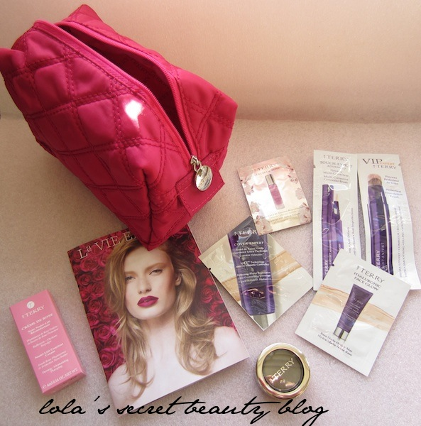lola's secret beauty blog: Lola's Secret Beauty Blog Exclusive By Terry/SpaceNK Gift With Purchase- A Look Inside!