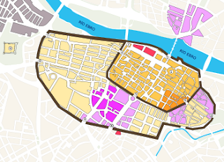 Mapa de Medina Albaida