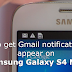 How to fix E-mail notifications problem on Samsung Galaxy S4 Mini