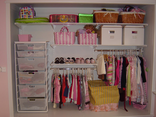 Kids Bedroom Closet Organization