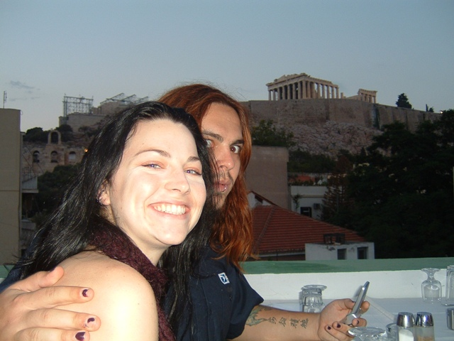 Amy Lee and Shaun