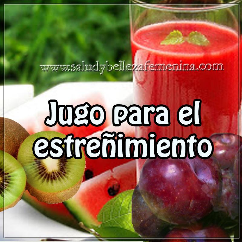 Bebidas saludables,  receta de jugo para el estreñimiento ,  jugo digestivo