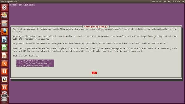 konfigurasi install grub