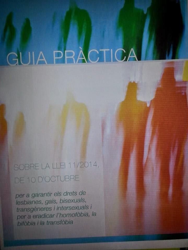 GUIA PRÀCTICA LLEI CONTRA L'HOMOFÒBIA
