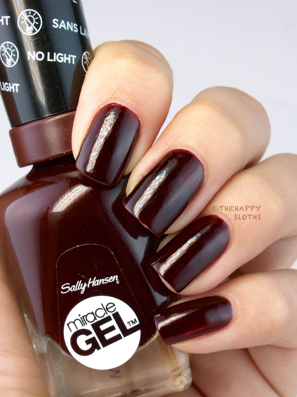 Sally Hansen Miracle Gel Nail Polish + Top Coat: Review and Swatches
