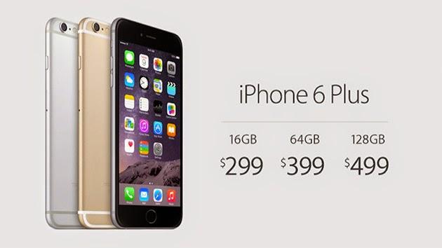 iphone 6 and 6 plus price