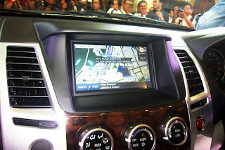 Interior Pajero sport limited 2013