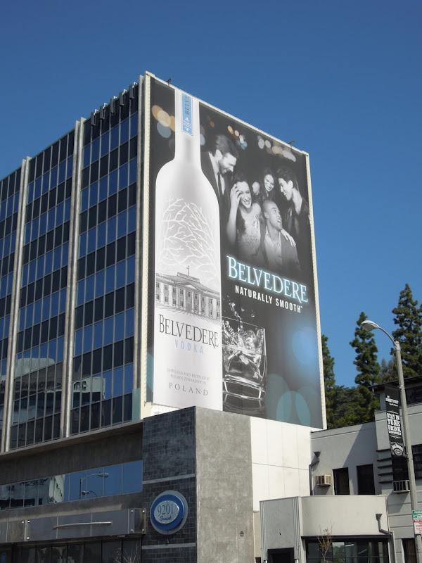 Belvedere Vodka Naturally Smooth billboard