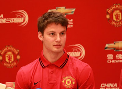 Nick Powell at Manchester United
