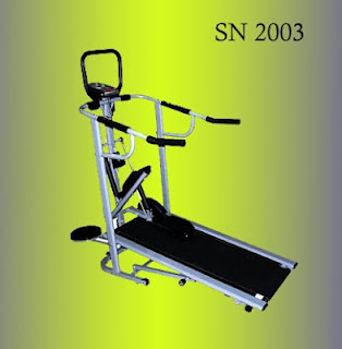 Treadmill Manual 3 Fungsi Plus Stepper dan Massager SN-2003