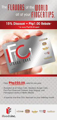 IFoods Card: The flavors of the Worlds with Discounts at your fingertips