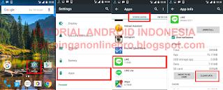 Cara Mengganti Akun Line Tanpa Harus Flash instal ulang Android