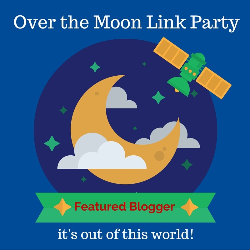 I Was Featured on the Over The Moon Party!