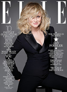 Magazine Cover : Women in TV Magazine Photoshoot Pics on Carter Smith Elle Magazine US January 2014 Issue